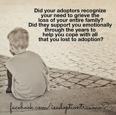Trauma adopcion